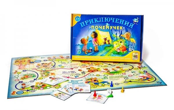 игра ходилка для детей Приключения почемучек